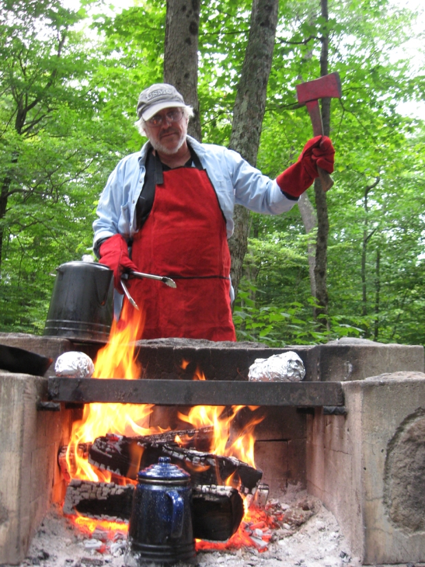 Chef Tom_Mongaup Pond Aug 15 - 17- 2014